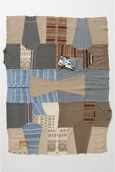 Old #sweaters Blanket