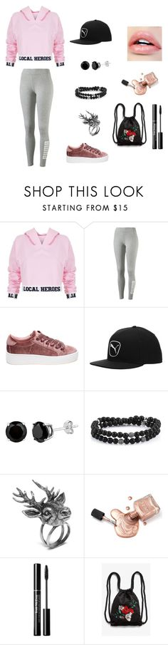 """idk"" by ktbspa-and-loveislove on Polyvore featuring moda, Local Heroes, Puma, Steve Madden, Mulberry y Monki"