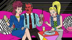 Halro: Ugly Americans season 2 Backplates