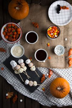 candy corn donut holes
