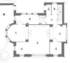 Association Maison Blanche - Le Corbusier: Ground floor