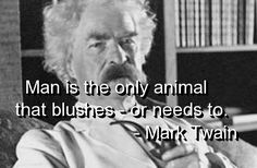 mark twain, quotes, sayings, meaningful, about man