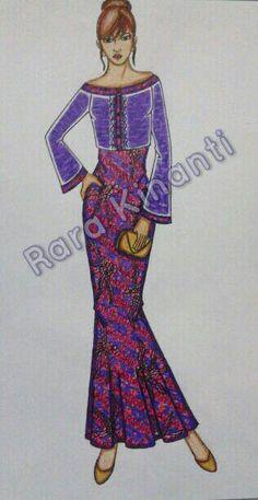 #batik #dress #design