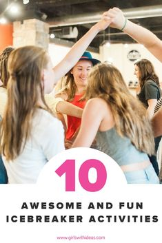 Looking for the perfect icebreaker for your group? Look no further! Here's our top 10 favorite games to break the ice! Fun Icebreakers, Icebreaker Activities, Icebreakers For Women, Icebreaker Games For Work, Youth Games, Group Activities, Sensory Activities, Leadership Games, Team Builders