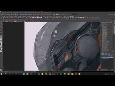 Project Zavala - Full Tutorial Maya Arnold Texture and Modeling - YouTube