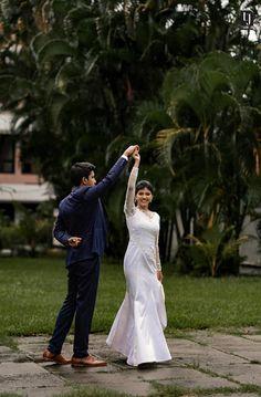 Kerala Wedding Photography, Kochi, Wedding Film, White Dress, Studio, Couple Photos, Couples, Wedding Dresses, Tops