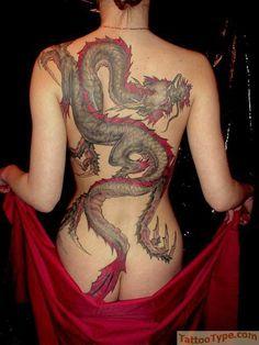 A delicious dragon tattoo