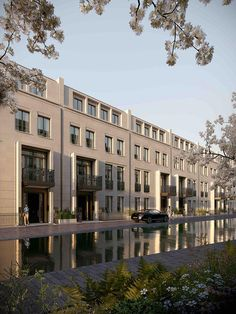 Super-luxury development Chelsea Barracks commissions its first public artwork Villa Design, Facade Design, Mansard Roof, London Property, Property Development, Brutalist, Townhouse, Chelsea, Oak Park
