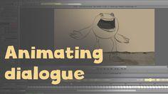 Aaron's Art Tips Season2 E14 - How to Animate Dialogue, Lip Sync