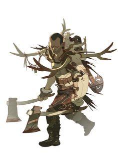 Warrior by *Brosa on deviantART