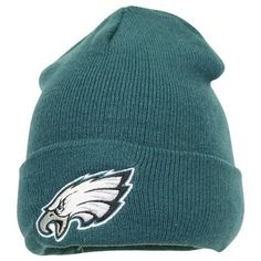 Philadelphia Eagles Green Cuffed NFL Classic Knit Cap Beanie