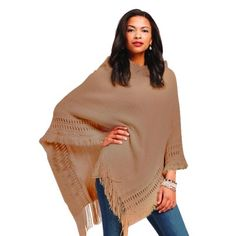 The Aspen Hooded Poncho - Taupe - $24.00 On Sale! Original Price is $85! Can't beat the Sale! Only 4 More Days For this Wonderful Sale + Free Shipping!!! GET IN AND CHECK OUT ALL THE DEALS GOING ON NOW!!!! You Know I Sure did! Thanks, Michele :)