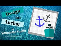 Designing an anchor for your summer or nautical designs is quick and easy in Silhouette Studio. Say It With Simplicity is an Ambassador for Skillshare, an on. Nautical Design, Silhouette Studio, Anchor, Draw, Youtube, To Draw, Sketches, Anchor Bolt, Painting