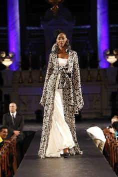 BLACK FASHION WEEK MONTREAL – YVES JEAN LACASSE COLLECTION 2013
