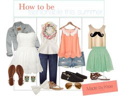 """""""How to Be fashionable this summer"""" by the-tipping-lovelies-xo ❤ liked on Polyvore"""