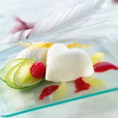 Mousse de fromage blanc aux fruits rouges
