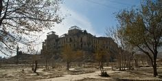 Deserted Places: The ruins of Darul Aman Palace of Afghanistan