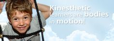 Kinesthetic learners process learning through movement and feeling. These learners benefit from moving their bodies and activating muscles during a task. Unable to sit still, these learners will often, and sometimes literally, throw themselves into an activity.  The more senses a kinesthetic learner uses, the better they retain new information. They react to textures and smells. Patting them on the back when they do well is a simple way to reinforce learning. Staying in motion allows their…