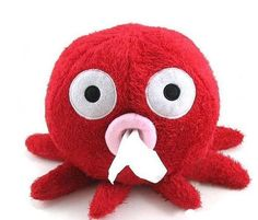 Octopus Tissue Boxes, $9.99 each via #INFmetry.com. #gifts