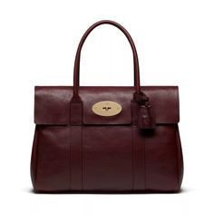 Heritage Bayswater | Oxblood Natural Leather | Women | Mulberry