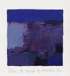 Dec. 19 2014  Original Abstract Oil Painting  by hiroshimatsumoto