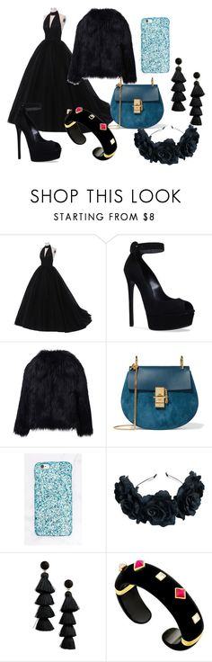 """""""Untitled #58"""" by iulianaenache526 on Polyvore featuring Casadei, WithChic, Chloé, BaubleBar and Margot McKinney"""