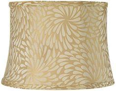 Bronze Chrysanthemum Bell Lamp Shade 12x14x10 (Spider) - #EU4F297 - Euro Style Lighting