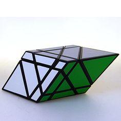 Rare Custom Made Black Trigonal Trapezohedron 3X3X3 Rhombodedron Magic Cube