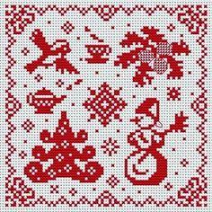 Вышивка крестом / Cross stitch : Звезды
