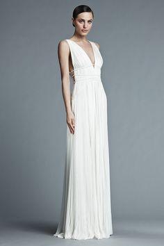 Robe de mariée style grec - Robe: J Mendel, modèle Giselle - La Fiancée du Panda blog Mariage et Lifestyle