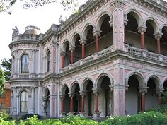 Architectual history of Labassa House in Melbourne, Victoria, Australia. Australian Architecture, Australian Homes, Classical Architecture, Beautiful Architecture, Melbourne Victoria, Victoria Australia, Old Houses, Nice Houses, Boarding House