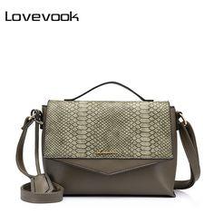 LOVEVOOK бренд модная женская сумка через плечо с лоскутной работой, маленькая и простая Коричнеый, Серый, Бежевый
