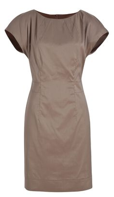 Chocolate dress  63% cotton 37%polyester can add many different small coloured belts.