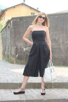 Culottes & flatforms  – Fashion Blogger Outfit