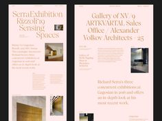 Serra Rizzoli Sensing Spaces by Hrvoje Grubisic on Dribbble Website Design Layout, Web Layout, Layout Design, Web Design Projects, Web Design Tips, Design Design, Website Design Inspiration, Packaging Design Inspiration, Layout Inspiration