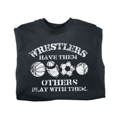 This is a great wrestling t-shirt! Wrestling definitely sets the men apart from the boys! #wrestle #wrestling
