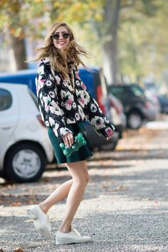 Chiara Ferragni One day it's Moschino head to toe, and another it's Marni. You know, normal blogger behavior. Photo: I'M KOO