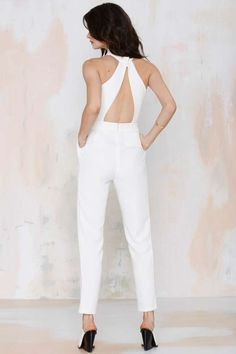 Cameo Collective Breaking Hearts Cutout Jumpsuit - Rompers + Jumpsuits | Cameo
