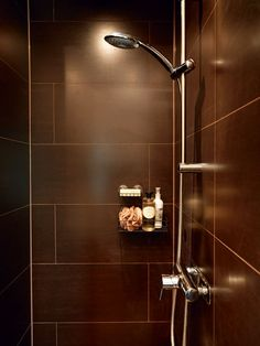 Man cave shower