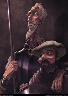 Don Quixote by Antonio Ares Gastesi