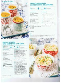 Revista bimby pt-s02-0037 - dezembro 2013 Fodmap Recipes, Rice Recipes, Healthy Recipes, Yummy Appetizers, Appetizer Ideas, Kitchen Reviews, Paella, Perfect Food, Food Inspiration
