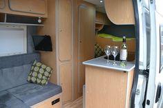 Convert Your Van Ltd - Vauxhall Movano Camper Conversion and Furniture Kits