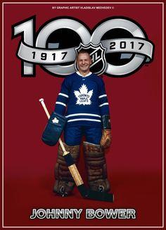 Johnny Bower Jets Hockey, Hockey Goalie, Hockey Players, Ice Hockey, Goalie Mask, Sport Icon, National Hockey League, Toronto Maple Leafs, Nhl