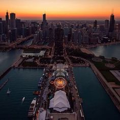 You can look over the city and see this: | 23 Reasons Chicago Is The Definition Of Amazing