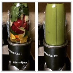 Smoothie - 1 Apple, 3/4 orange, spinach, 1 celery stalk, 1 tsp flaxseed, 1 tsp avocado oil, 1/4 cucumber