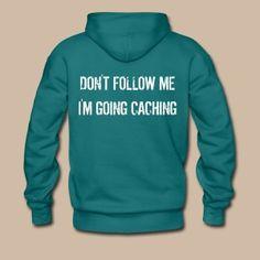 Don't follow me Hoodie - Miesten premium-huppari