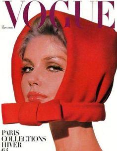 Kecia Nyman photographed by Helmut Newton. Vogue Paris, September 1964.