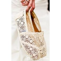 I'm not usually a huge fan of toms, but I have to admit I love these...