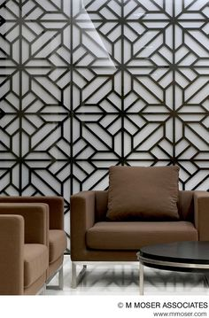 globally appealing design by m moser associates interior design architecture - Jeff Lewis Design Wallpaper