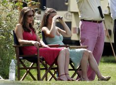 Kate Middleton and her sister Pippa Middleton watch Prince William compete in the Chakravarty Cup charity polo match at Ham Polo Club on June 2006 in Richmond, England. Get premium, high resolution news photos at Getty Images Kate Middleton Outfits, Middleton Family, Pippa Middleton, Pippa And James, Kate And Pippa, Duke And Duchess, Duchess Of Cambridge, Ham Polo Club, Michael Williams